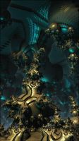 Inside the Alien Throne Room by poca2hontas