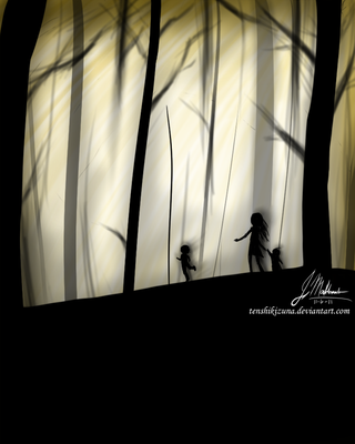 Day in the Woods by TenshiKizuna