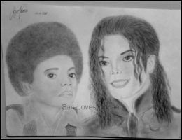 Michael Past and Present by SaralovesMichael