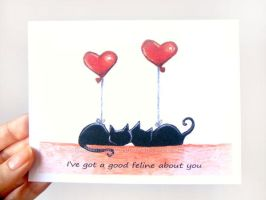 A Good Feline About You by sobeyondthis