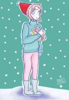 Christmas Gems: Pearl by ReiReiArt