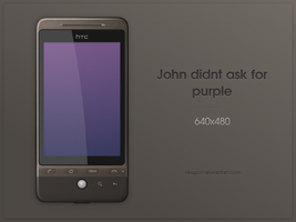 John didnt ask for purple by hundone