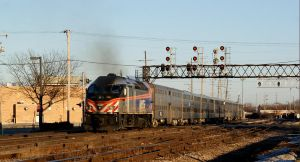 Metra 424 as MDW 2718 by JamesT4