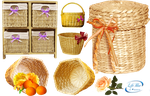 Wicker baskets - PNG by lifeblue