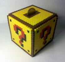8-bit Coin Block Coin Holder by i-am-a-decoy