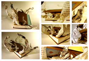 Altered Book - Voyage by PackofWildBores