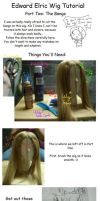 Edward Wig Tutorial: Pt. 2 by SakiRee