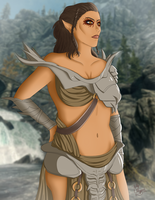 Comm - Skyrim Beauty by Horu-chan