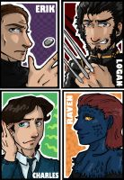 X-men art cards 1 by yamiswift