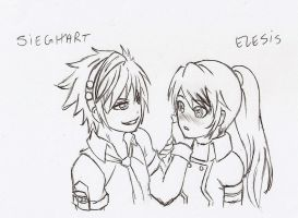 Sieghart and Elesis by Laurits10