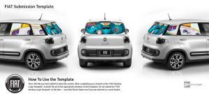 Fiat 500L - Larger than you think by MusesTouch-digiArt