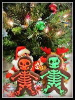 Gingerdead Men by CrazedByCalliope