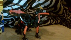 Ultimate Predaking Figure! by starscreamfan10100