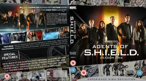 Agents of SHEILD season one Blu-Ray by MrPacinoHead