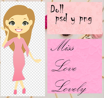 Doll psd y png  Miss Love Lovely- -zoevalentina17 by zoevalentina17