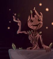 Groot by CrayonBot