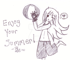 Happy Summer by SplatteredBlue