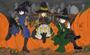 At the Pumpkin Patch by arima