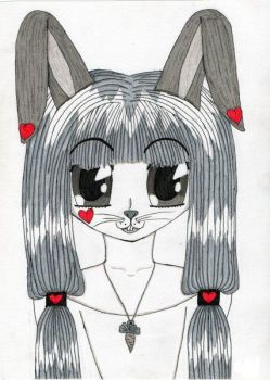 A bunny by Wophie