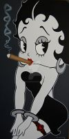 Boop with Cigar by Paul5252