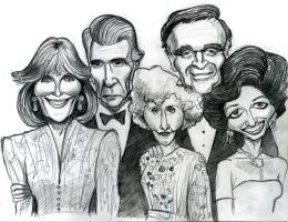 Cast of Dynasty by Caricature80
