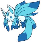 [CUSTOM] Petal Glaceon by Ayinai