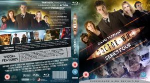 DOCTOR WHO SERIES 4 BLU-RAY COV by MrPacinoHead