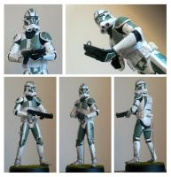 medicom RAH 71st clone trooper by jimmymcwicked