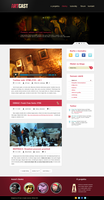 ARTcast.cz blog design - wordpress theme by skaars-cz