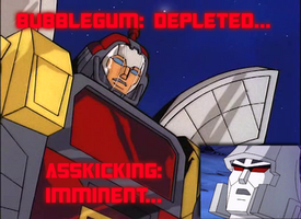 Omega Supreme: All Out of Bubblegum by shadesmaclean