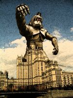 King Kong in Moscow by Steinn-Hondkatur