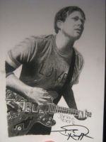 Tom DeLonge (signed) by Yanii182