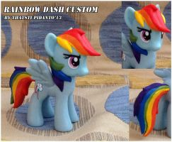 Rainbow Dash custom by Antych