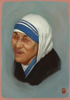mother theresa by kepondangkuning