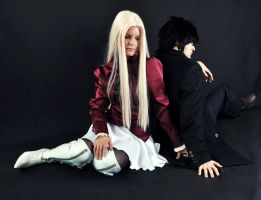 Fate Zero, Irisviel and Kiritsugu by Shaykow