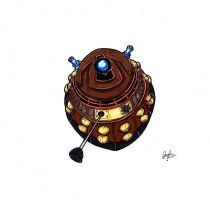 A Dalek Dares To Dream by spankingfemfatale