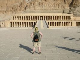 Temple of Queen Hatshepsut by Rykan-