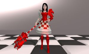 MMD and XPS AMR: Alice CheckMate DL by Tokami-Fuko