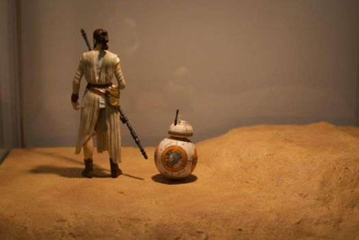 Star Wars sand display by Terrafoamer