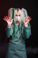 Cybergoth blood stock by Nerium-Oleanders