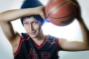 Aomine Daiki - Light. by KenkenTiger