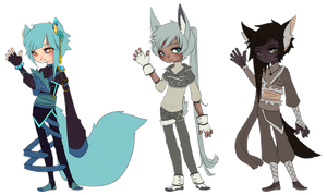 Collab Adopts 02 by peacockaroo