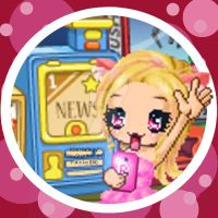 Fan-made Pinkerellie YouTube icon by Fario-P