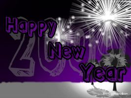 Happy New Year 2009 by X----Ray