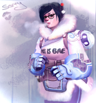 Mei frosted by Kyena
