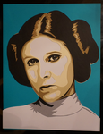 Paper Leia by tripperfunster