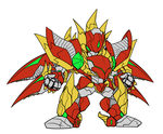 Advance Dragoon Govolger - SRW-style SD by ReiDuran