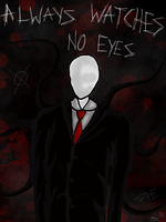 The Slenderman by InvaderZiE