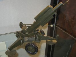 Experimental howitzer model by TSofian