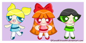 The Powepuff Girls by KawaiiKittee88